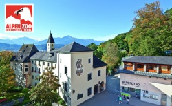 Eingang zum Alpenzoo