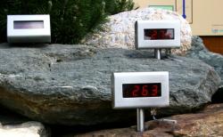 Elektronische Temperaturanzeige