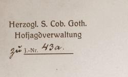 Referenzschreiben aus dem Jahr 1911